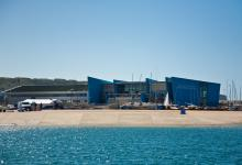 WPNSA Dinghy Park from the Water