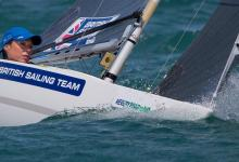 Helena Lucas at ISAF Sailing World Cup Weymouth & Portland 2015