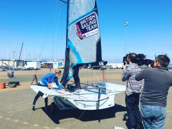 49er FX Team Charlotte Dobson & Sophie Ainsworth © British Sailing Team