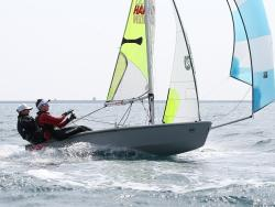 Freddie Peters and Louis Johnson PA Consulting UK RS Feva National Champions finished at WPNSA in 22-29 knots © Peter Newton