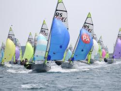Weymouth and Portland National Sailing Academy continues to attract big fleets 4 years after London 2012 © Peter Newton