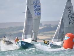 Martin & Lowry, 9106, are in the box seats ahead of final race © Christophe Favreau