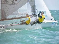 Smith and Needham take line honours © Christophe Favreau