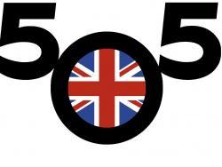 UK 5O5 Yacht Racing Association Logo © UK 505 YRA