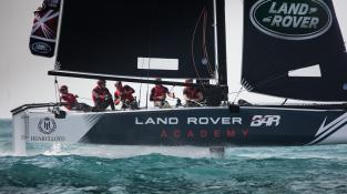 Land Rover BAR Academy have been training at the Weymouth and Portland National Sailing Academy © Land Rover BAR