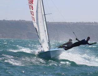 470 Sailing © GBR 470 Class