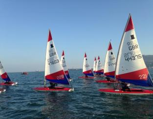 Toppers in Portland Harbour © ITCA (GBR)