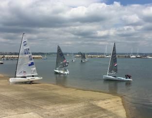 Cloudy Skies as Sailors Return