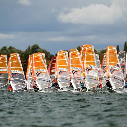 Youth Windsurfing (c) RYA