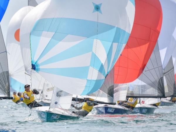 130 sailors competed in 9 World Championship races at Weymouth and Portland © Christophe Favreau