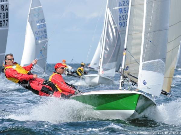 The 505 Class will attract some of the world's best dinghy sailors to Weymouth and Portland © Christophe Favreau