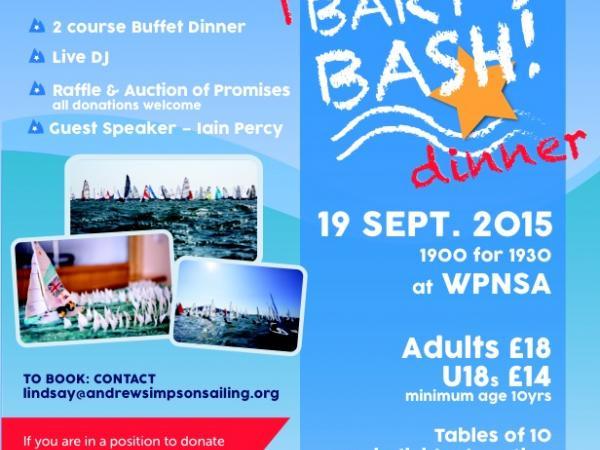 Bart's Bash Dinner Poster
