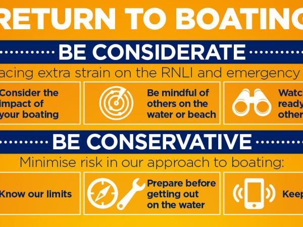 RYA Return to Boating Advice © RYA