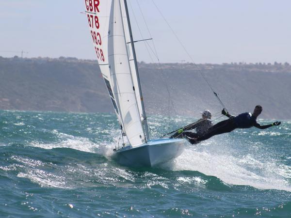 470 sailing (c) GBR 470 Class Association