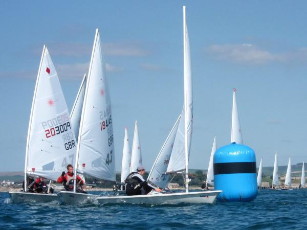 Laser 4.7s Racing at WPNSA