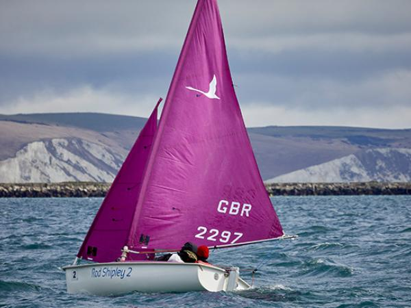 Hansa Sailing in Portland Harbour (c) RYA Sailability