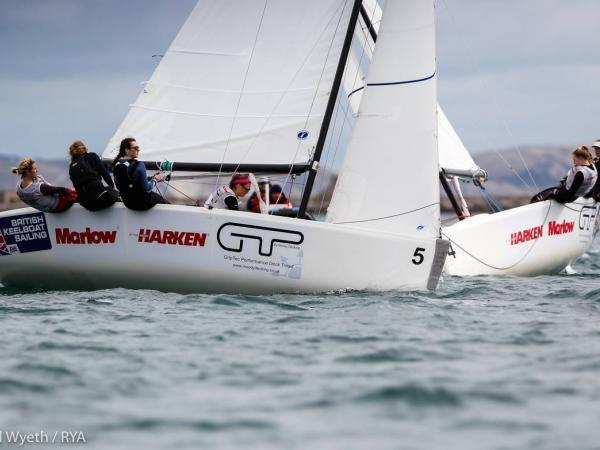 RYA Women Match Racing © Paul Wyeth & RYA